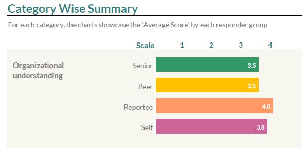 Category Wise Summary- GroSum 360-Degree Feedback