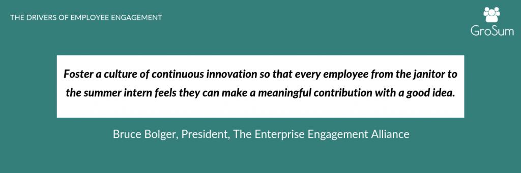 Bruce Bolger, President, The Enterprise Engagement Alliance