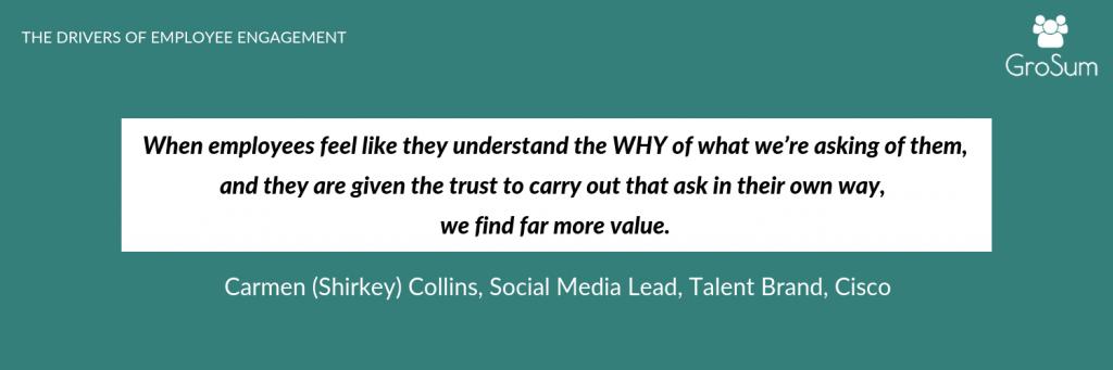 Carmen (Shirkey) Collins, Social Media Lead, Talent Brand, Cisco