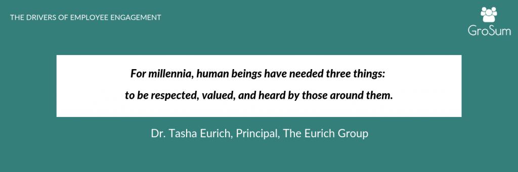 Dr. Tasha Eurich, Principal, The Eurich Group