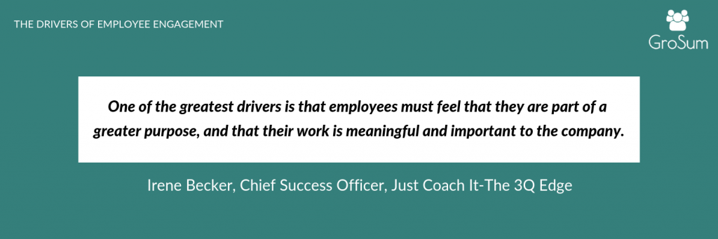 Irene Becker, Chief Success Officer, Just Coach It-The 3Q Edge