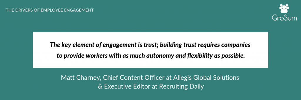 Matt Charney, Chief Content Officer at Allegis Global Solutions & Executive Editor at Recruiting Daily