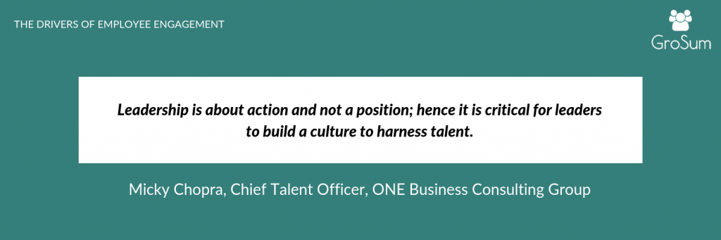 Micky Chopra, Chief Talent Officer, ONE Business Consulting Group