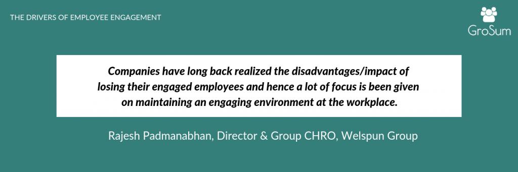 Rajesh Padmanabhan, Director & Group CHRO, Welspun Group