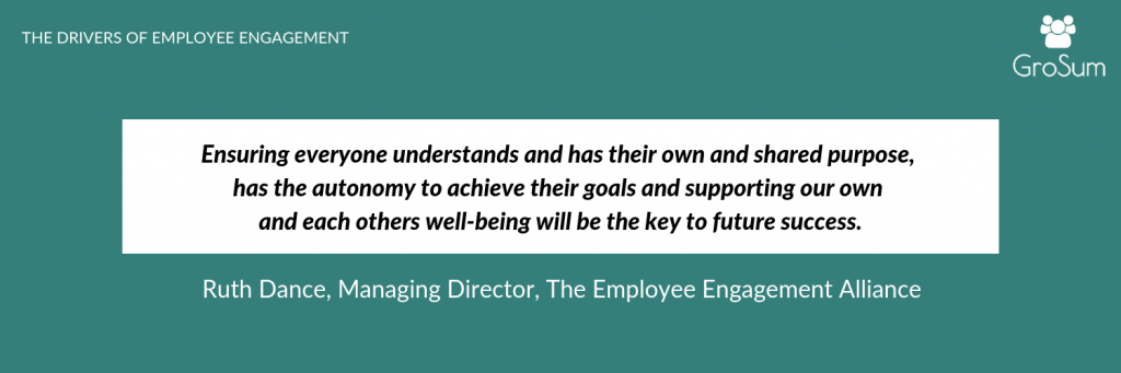 Ruth Dance, Managing Director, The Employee Engagement Alliance