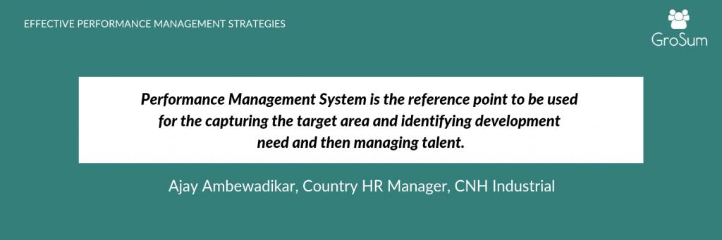 Ajay Ambewadikar, Country HR Manager, CNH Industrial