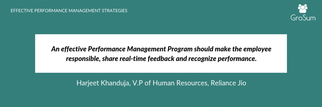 Harjeet Khanduja, V.P of Human Resources, Reliance Jio