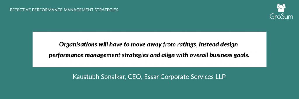 Kaustubh Sonalkar, CEO, Essar Corporate Services LLP