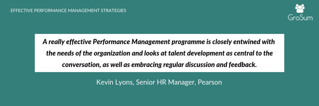 Kevin Lyons, Senior HR Manager, Pearson
