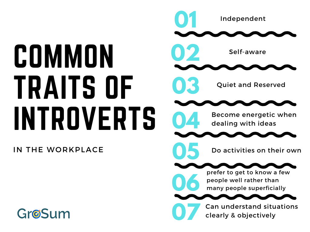 Traits of introverts